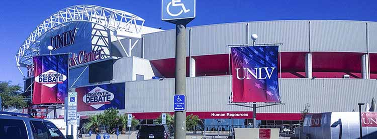 UNLV Presidential Debates TV Lighting Politics
