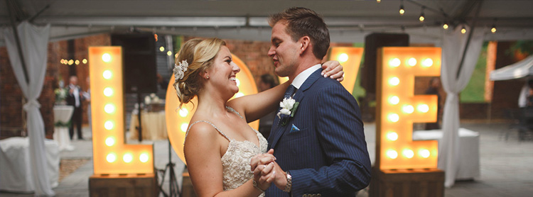 Wedding lighting company charlottesville