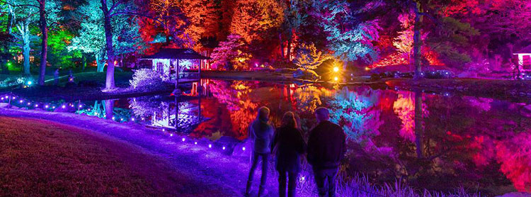 Event Lighting Design Maymont Garden Glow The Lighting Sound Company